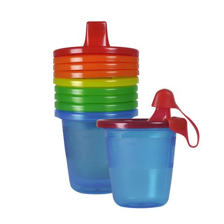 Learning Curve Canada Ltd The First Years Take & Toss 7 Oz Sippy Cups - 7 Pack, Colours May Vary - image 1 of 1