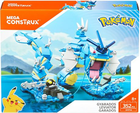 Mega Construx Pokemon Gyarados Building Set - image 1 of 8