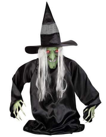 Gemmy Industries Animated Ground Breaker Witch - image 1 of 1