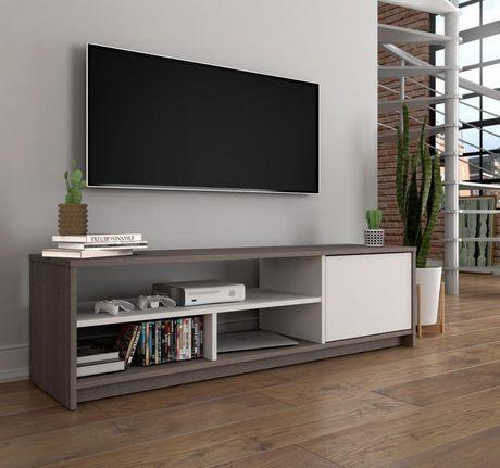 Meuble pour télévision Bestar de la collection Small Space de 53,5 po - image 2 de 4