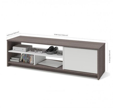 Bestar Small Space 53 5 Inch Tv Stand Walmart Canada