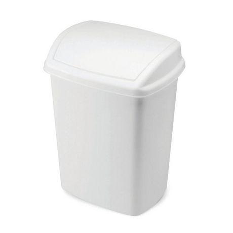 Rubbermaid White Wastebasket - image 1 of 1