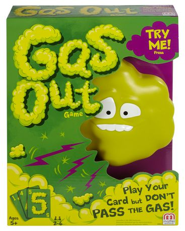 Gas Out Card Game - image 1 of 5