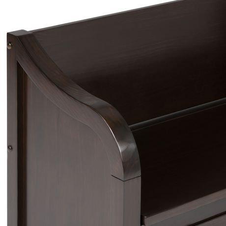 banc de rangement hampshire pour l 39 entr e de wyndenhall. Black Bedroom Furniture Sets. Home Design Ideas