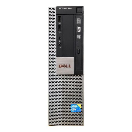 Refurbished Dell Optiplex Desktop Intel i7-2600 990 - image 1 of 4