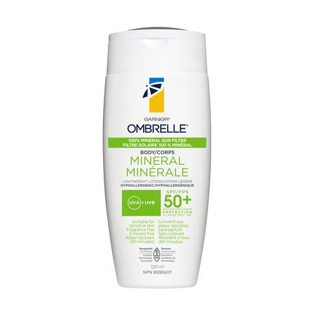 Garnier Ombrelle 100% Mineral SPF50+ 100ML - image 1 of 1