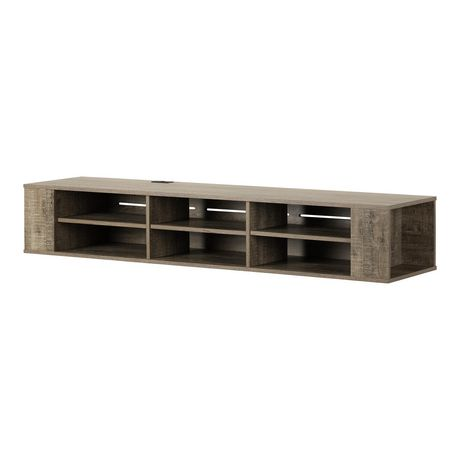 South Shore City Life Wall Mounted Media Console - image 2 of 9