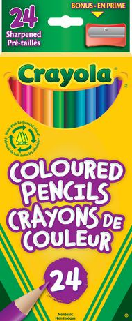Crayola 24 Coloured Pencils   Walmart Canada
