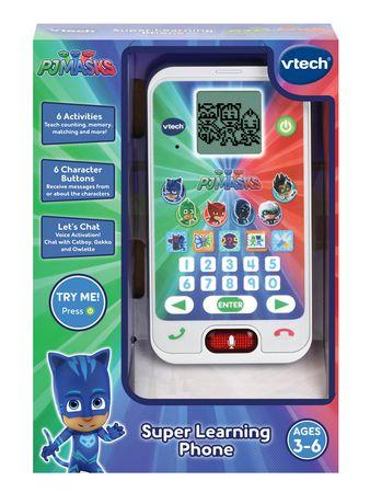 VTech Les Pyjamasques - Le smartphone éducatif des héros - Version anglaise - image 3 de 4