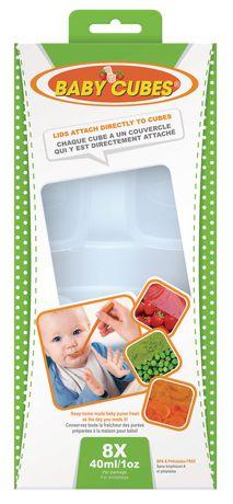 Contenant à ranger d'aliment pour bébé de Baby Cubes - image 1 de 4