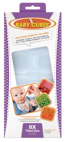 Baby Cubes Baby Food Containers - image 1 of 4