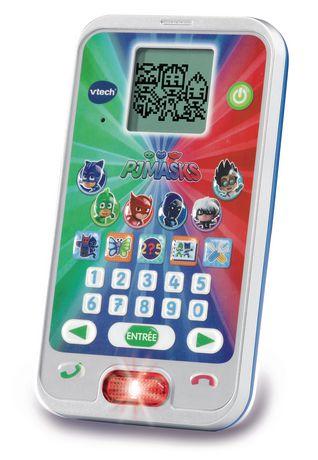 VTech Les Pyjamasques - Le smartphone éducatif des héros - Version française - image 2 de 3