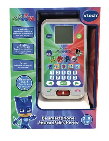 VTech Les Pyjamasques - Le smartphone éducatif des héros - Version française - image 3 de 3