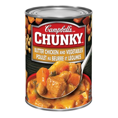 Campbell's® Chunky® Butter Chicken and Vegetables (540 mL) - image 1 of 1