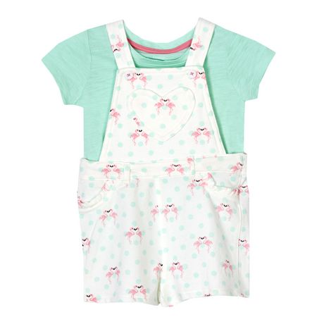 efd54429d40 George baby Girls  Shortall   T-Shirt Set - image ...