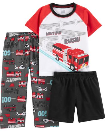 81b4484d0 Child of Mine By Carters Baby Toddler Boy Pajamas - rescue br ...