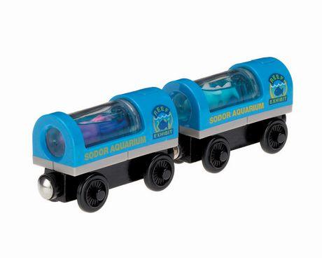 Fisher-Price Thomas & Friends Wooden Railway Aquarium Cars - image 1 of 2