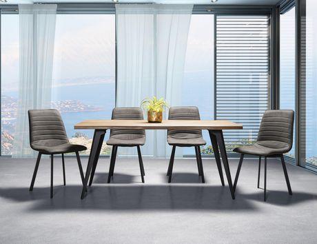 Topline Home Furnishings Grey Side Chairs - image 2 of 2