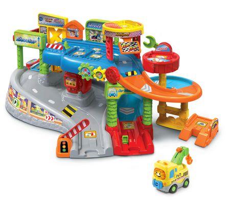 vtech go go smart wheels tow go garage english version walmart canada