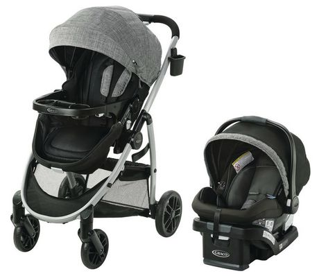 Best Bassinet Stroller – Graco Modes Pramette Travel System