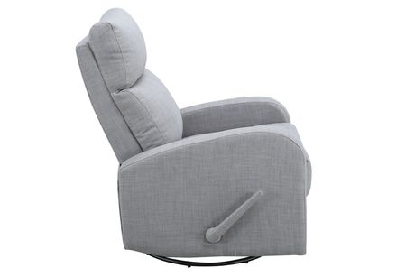 Concord Baby Charleston Swivel Glider Recliner Fabric Chair - image 2 of 3