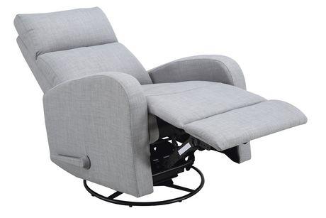 concord baby charleston swivel glider recliner fabric chair