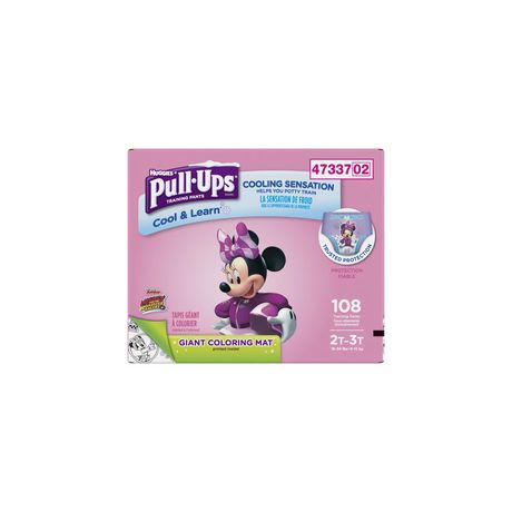 Pull-Ups Cool /& Learn Training Pants for Girls 38-50 lb. 82 Count 4T-5T