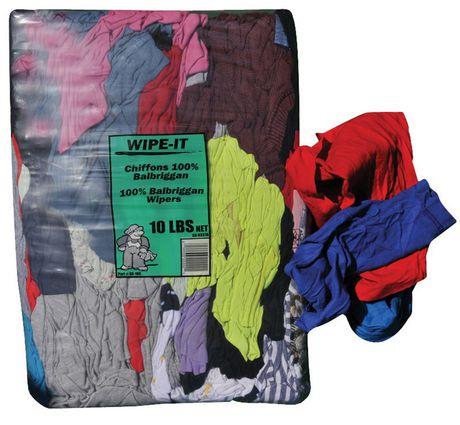 Serviettes de T-shirt de couleur Wipe-it en coton - image 1 de 1