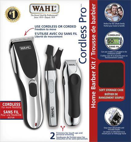 Cordless Pro Home Barber Kit