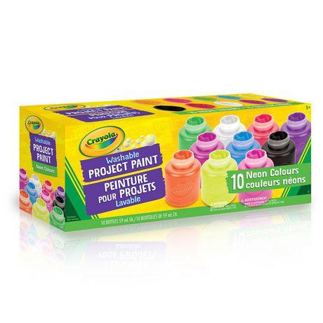 10 pots de peinture lavable Crayola - image 1 de 2