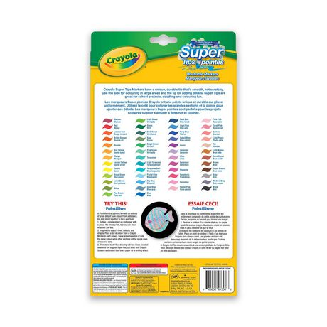 Crayola Super Tips Washable Markers, 50 Count - image 2 of 2