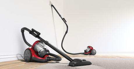 dirt devil breeze bagless canister vacuum cleaner