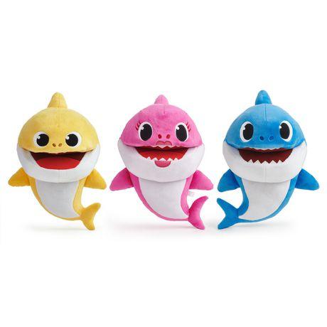 Pinkfong Baby Shark - Marionnettes musicales à vitesse contrôlée - Daddy Shark - Peluche préscolaire interactive - par WowWee - image 5 de 5