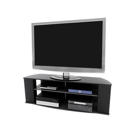 Prepac Essentials 60-inch Black TV Stand - image 1 of 5