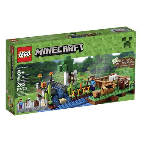 Enjoy hands-on Minecraft??? adventures with this LEGO?? Minecraft set???designed for young fans of the highly successful sandbox video game. Combine this set with other LEGO Minecraft models to create your own unique LEGO Minecraft universe. Also includes a Steve LEGO Minecraft minifigure.