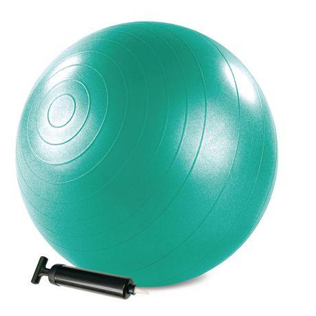 STOTT PILATES Balle de stabilité avec pompe - 65 cm (vert) - image 1 de 5