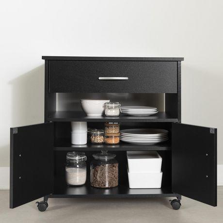 rangement micro ondes sur roulettes collection fiesta de. Black Bedroom Furniture Sets. Home Design Ideas
