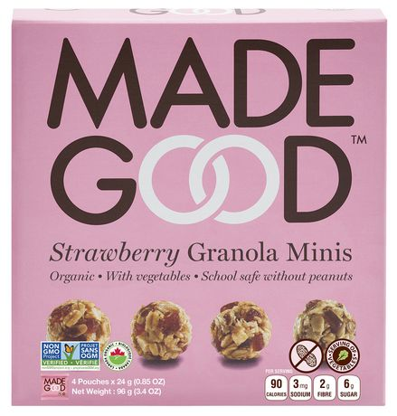 Made Good Organic Strawberry Granola Minis - image 1 of 3
