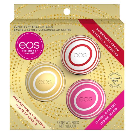Eos Holiday 2019 Lip Balm Limited Edition 3 Pack