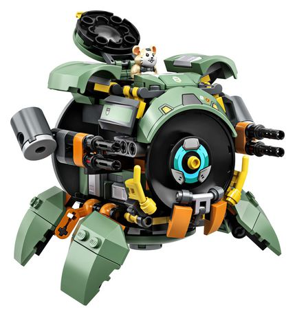 LEGO Overwatch Wrecking Ball 75976 Building Kit (227 Pieces) - image 2 of 4