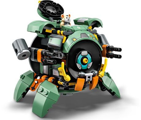 LEGO Overwatch Wrecking Ball 75976 Building Kit (227 Pieces) - image 3 of 4