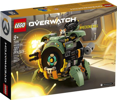 LEGO Overwatch Wrecking Ball 75976 Building Kit (227 Pieces) - image 4 of 4