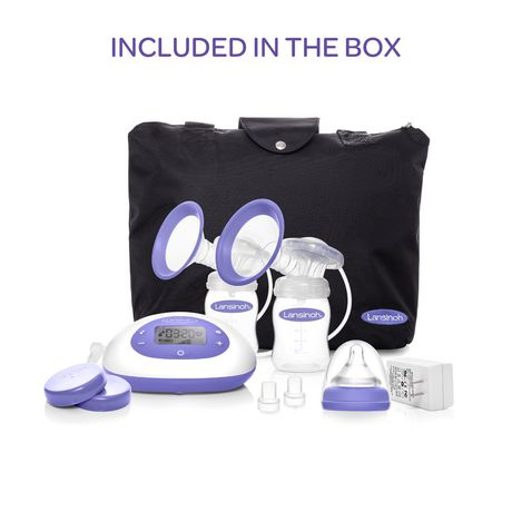 Lansinoh Signature Pro Double Electric Breast Pump - image 3 of 5