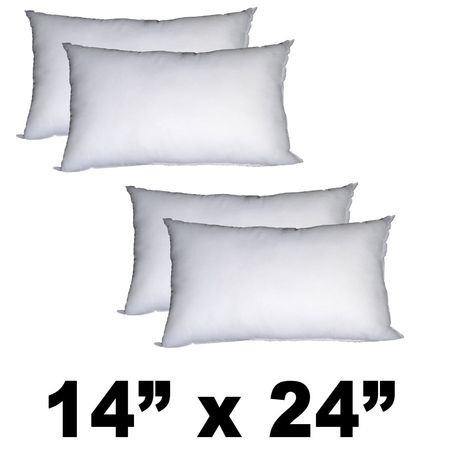Hometex Rectangular Polyester Fill Pillow Form - image 1 of 9
