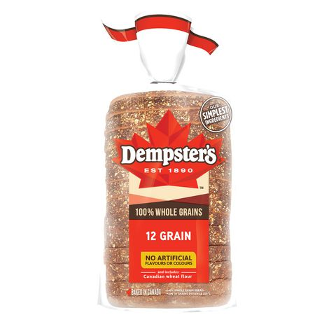 Dempster's® 100% Whole Grains 12 Grain Bread - image 2 of 8