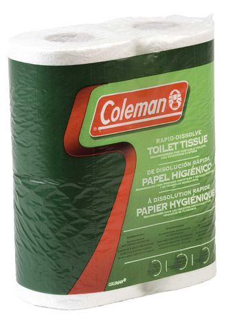 Coleman® Biodegradable Toilet Paper - 8 Pack - image 1 of 1