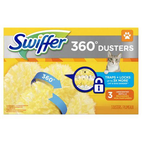 Swiffer 360 Dusters Pet Refills 3 Count - image 1 de 6