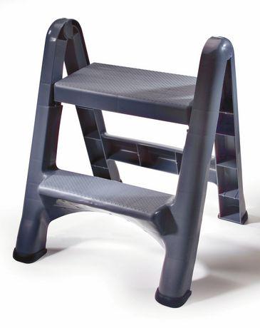 Awe Inspiring Newell Rubbermaid Folding 2 Step Stepstool Customarchery Wood Chair Design Ideas Customarcherynet