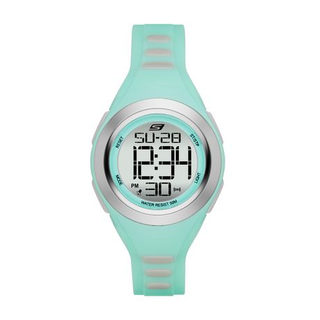 3da96c4498a Skechers Women s Tennyson Mint Digital Watch - image 1 ...