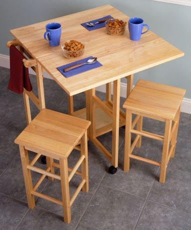 kitchen tables for small spaces walmart